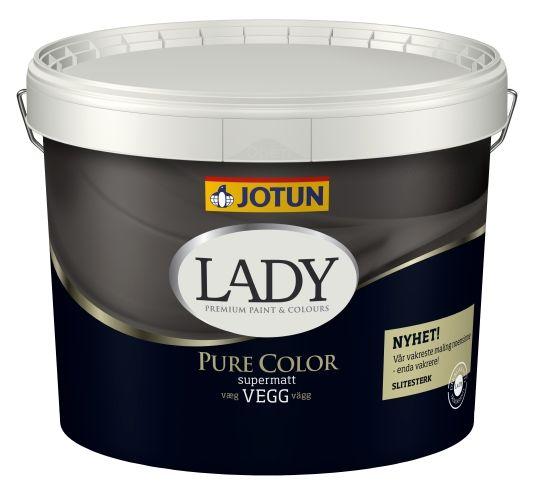 JOTUN LADY PURE COLOR HVIT-BASE 9L