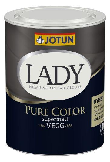 JOTUN LADY PURE COLOR HVIT-BASE 0,68L