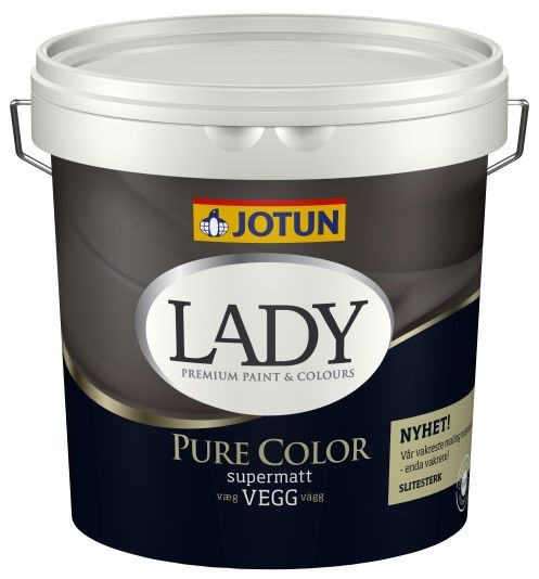 JOTUN LADY PURE COLOR HVIT-BASE 2,7L