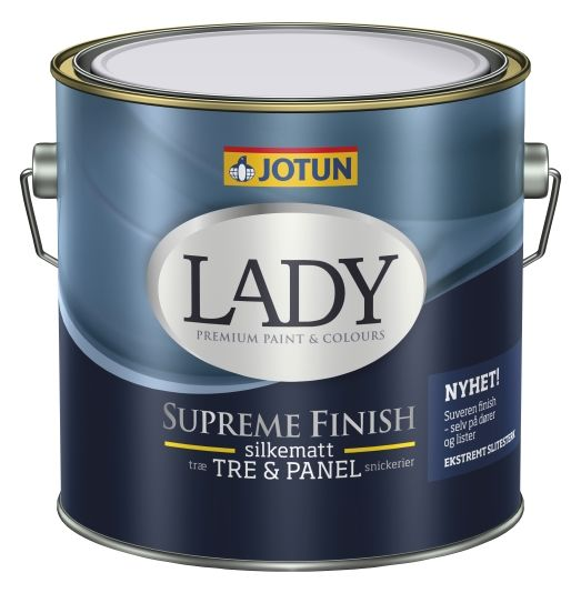 LADY SUPREME FINISH 15 HVIT-BASE 3L