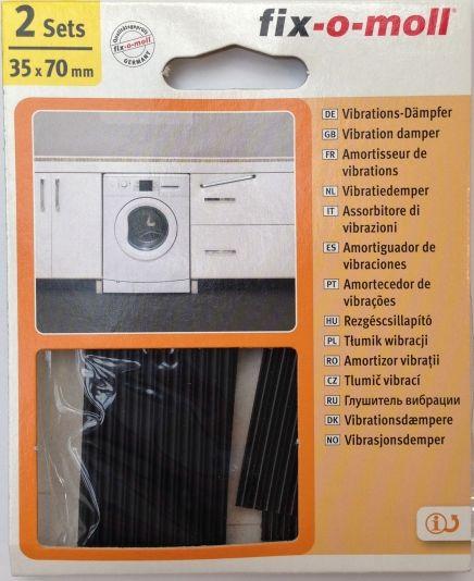 vibrasjonsdempere for vaskemaskin
