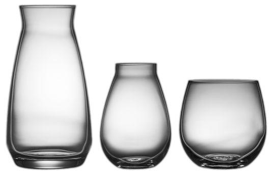 VASESETT BULB GLASS 3 DELER