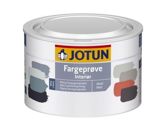 JOTUN FARGEPRØVE INT HVIT BAS 0,45L