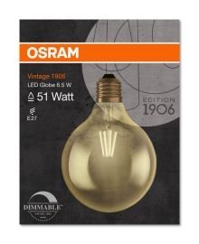 LED G125 54 GOLD E27 DIM GLOBE