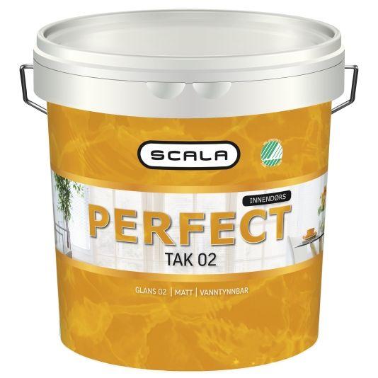 SCALA PERFECT TAK 02 HVIT-BASE 10L