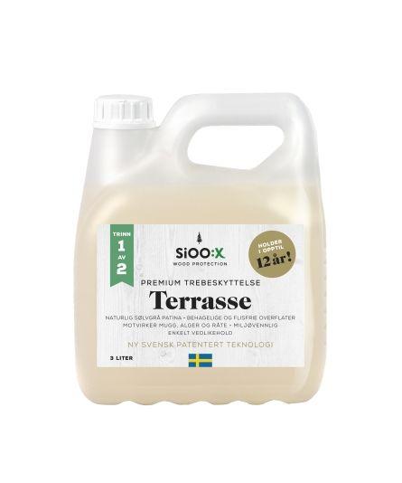 SIOOX TREBESKYTTELSE TERRASSE PREMIUM 3L