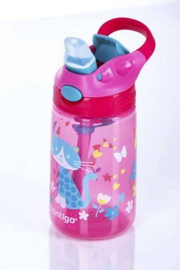 dd99e0e0 CONTIGO DRIKKEFLASKE BARN GIZMO FLIP 420ML CHERRY CAT - Drikkeflaske ...
