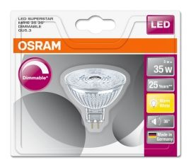 LED MR16 35 GU5,3 DIM 5W