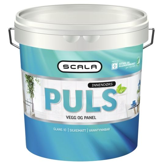 SCALA PULS 10 HVIT-BASE 2,7L