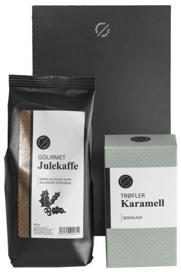 GOURMET INVITE JULEKAFFE OG TRØFLER MED SMAK AV KARAMELLGOURMET INVITE I C