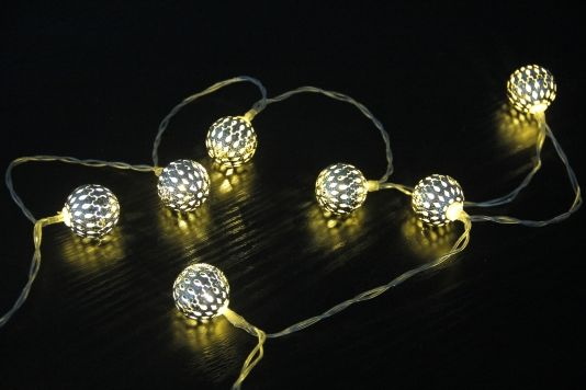 LYSSLYNGE BALL METAL 10 LED