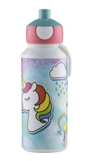 DRIKKEFLASKE POP-UP UNICORN