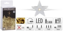 LED SILVERWIRE 40 LED WW