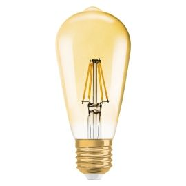 LED EDISON 1906 54 GOLD E27 7W
