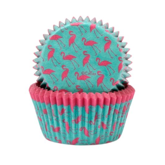 MUFFINSFORM FLAMINGO 100STK