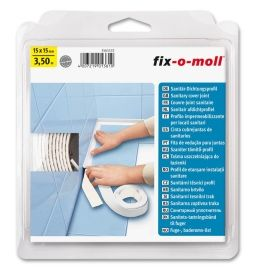 Fix-O-Moll Fugelist Hvit 350CMx15x15MM